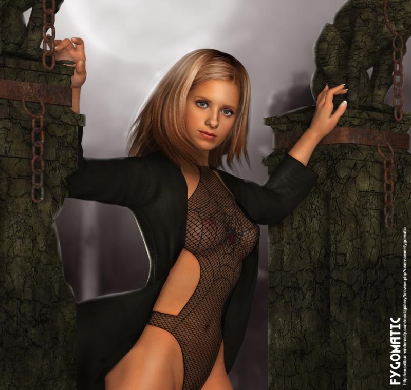 Scarlett pomers nude xxx