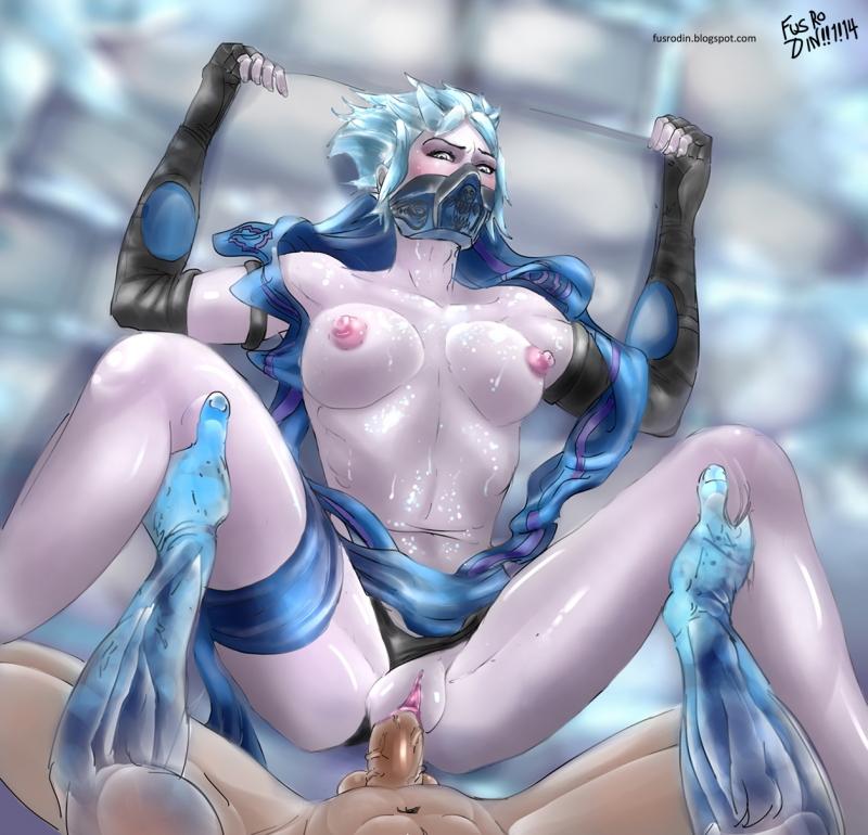mortal kombat frost naked