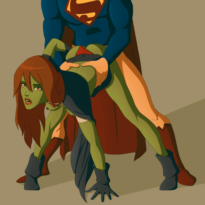 Superboy penetrate Megan/ Ms. Martian from behind