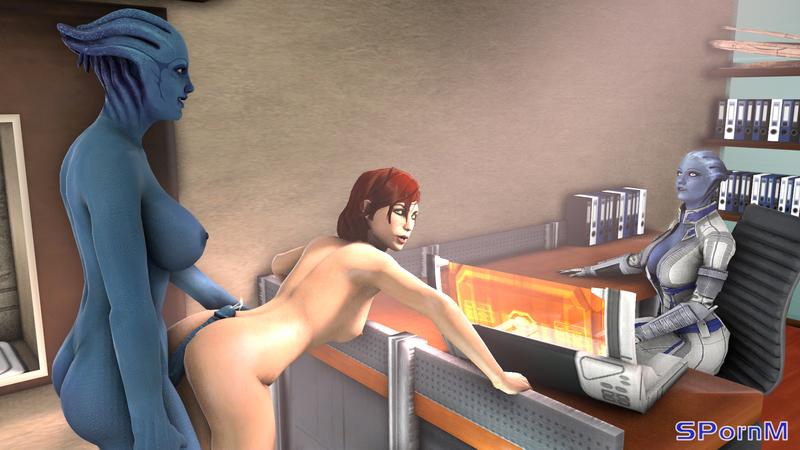 1535774 - Aria_T'loak Asari Commander_Shepard FemShep Liara_T'Soni Mass_Effect SPornM.jpg