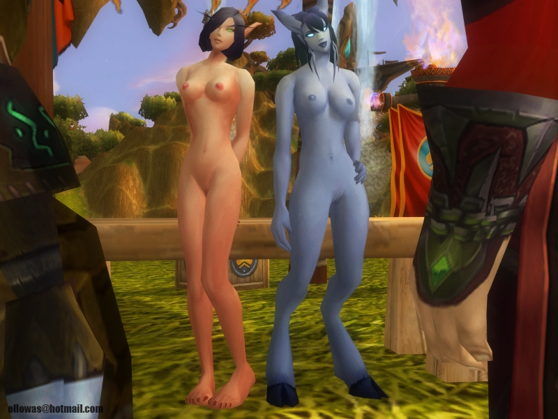 World of Warcraft porn comics - Sexy foursome