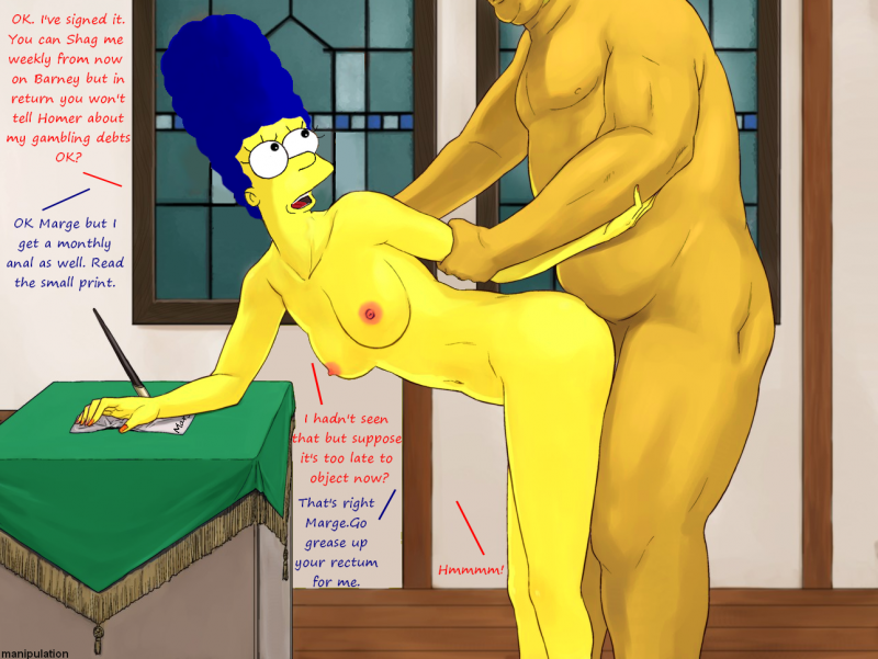 Simpsons Hentai Online Comic