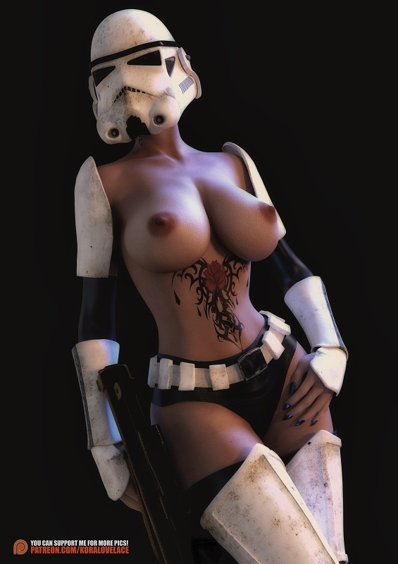 Star Wars Hentai Fantasy Art