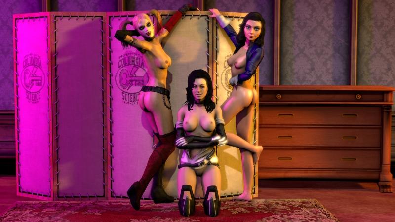 1402496 - Bioshock_Infinite Elizabeth Gatassih Harley_Quinn Mass_Effect Miranda_Lawson crossover source_filmmaker.jpg