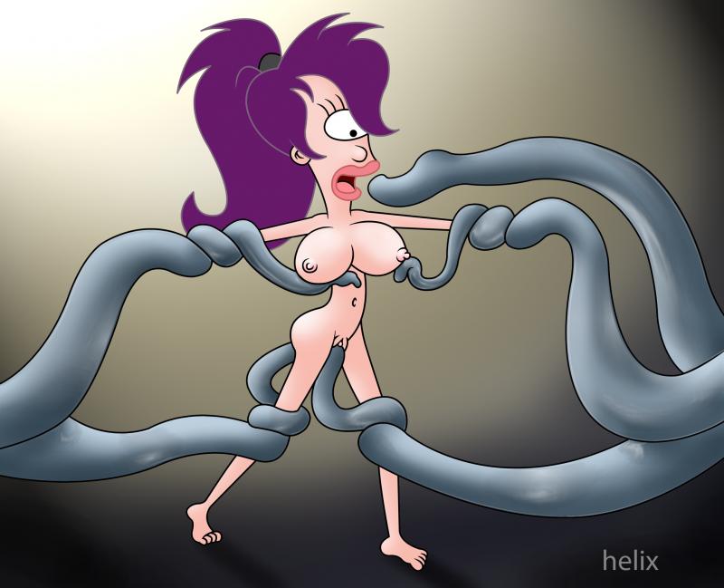 Kinky tentacles want plumb Leela Turanga