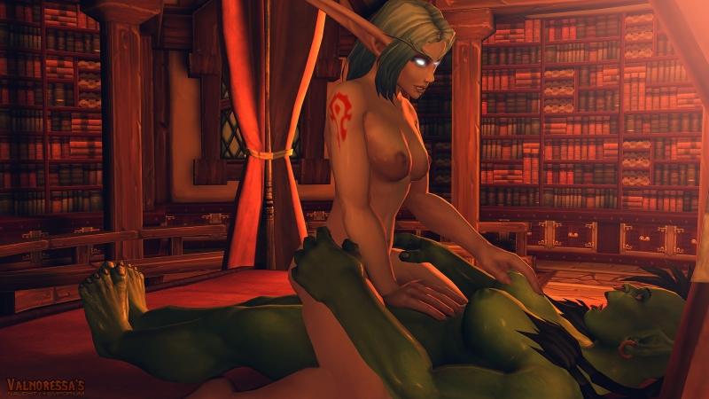 1422855 - Valnoressa World_of_Warcraft night_elf orc.jpg