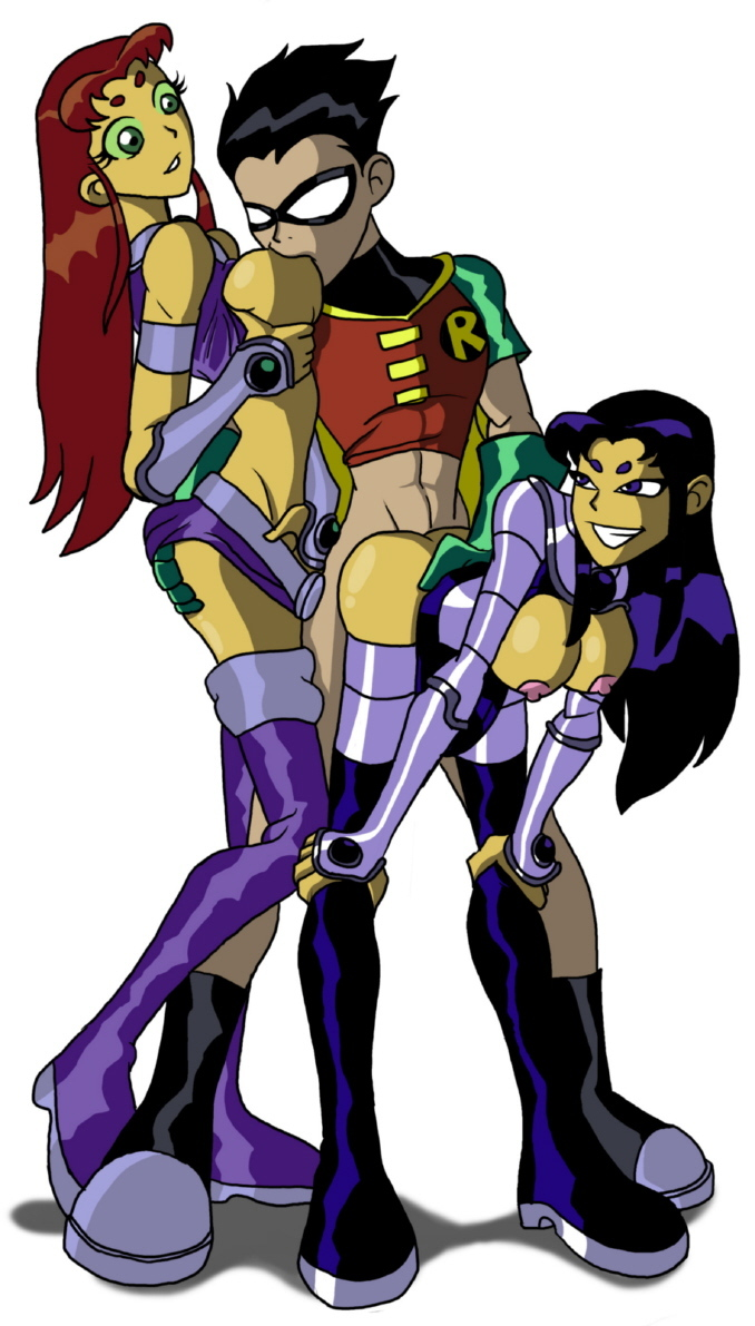 Starfire Robin Blackfire 807678 - Blackfire DC DCAU RedDrew Robin Star_Lover Starfire Teen_Titans.jpg