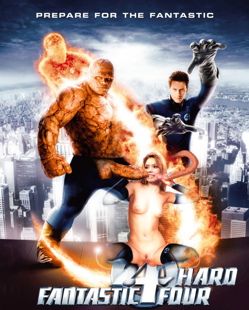 681075 - Chris_Evans Fantastic_Four Ioan_Gruffudd Jessica_Alba Johnny_Storm Marvel Michael_Chiklis Reed_Richards Sue_Storm The_Thing fakes.jpg