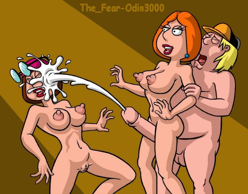 Lois Griffin Meg Griffin Chris Griffin 557405 - Chris_Griffin Family_Guy Lois_Griffin Meg_Griffin The_Fear odin3000.jpg