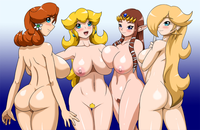 Princess Zelda 518182 - Legend_of_Zelda Princess_Daisy Princess_Peach Princess_Rosalina Princess_Zelda Speeds Super_Mario_Bros. Super_Mario_Galaxy crossover.jpg