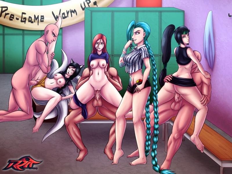 1463099 - Ahri Akali Jinx Katarina League_of_Legends Reit.jpg