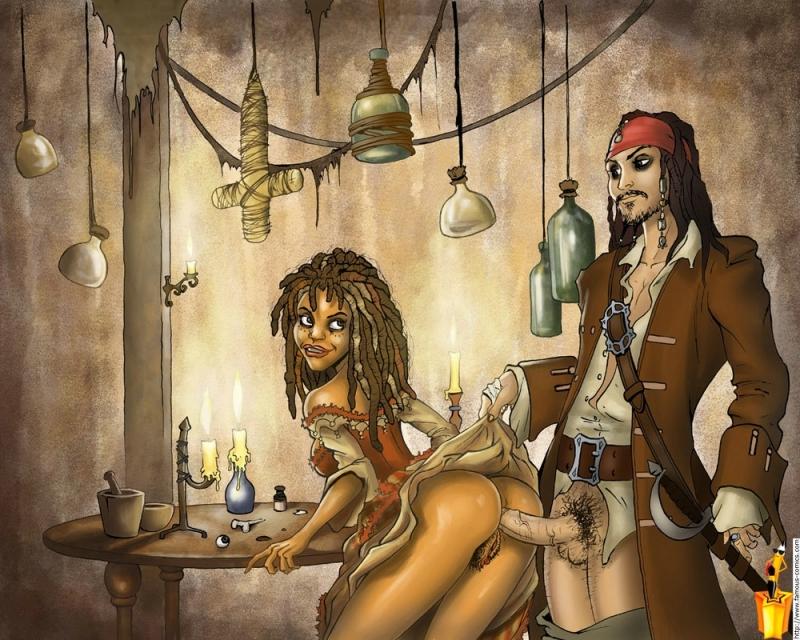пираты карибского моря эротическая пародия позирует