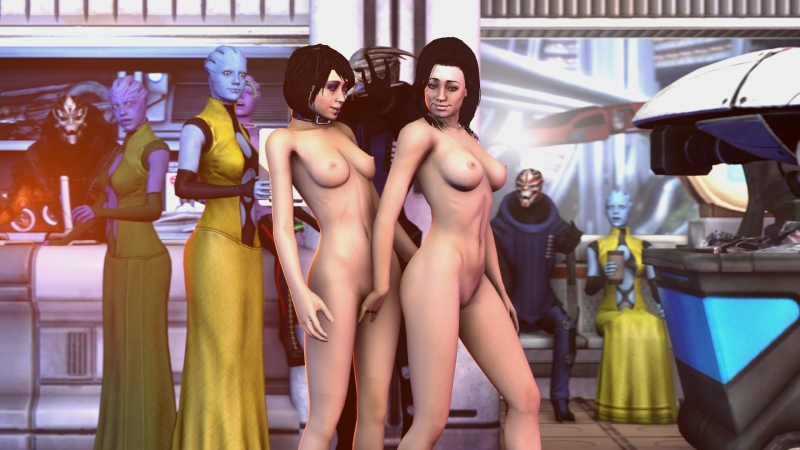 Sex With Liara And Ashly Mass Effect 2