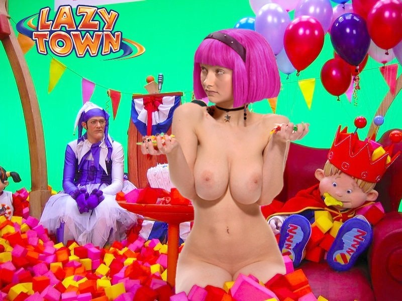 Lazy Town Porn Game