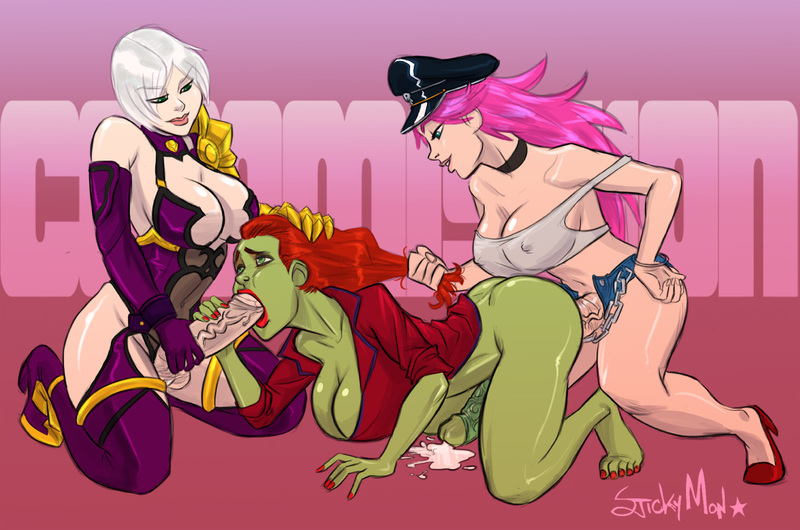 901786 - Batman:_Arkham_City DC Final_Fight Isabella_Valentine Poison Poison_Ivy Soul_Calibur Stickymon Street_Fighter crossover.jpg