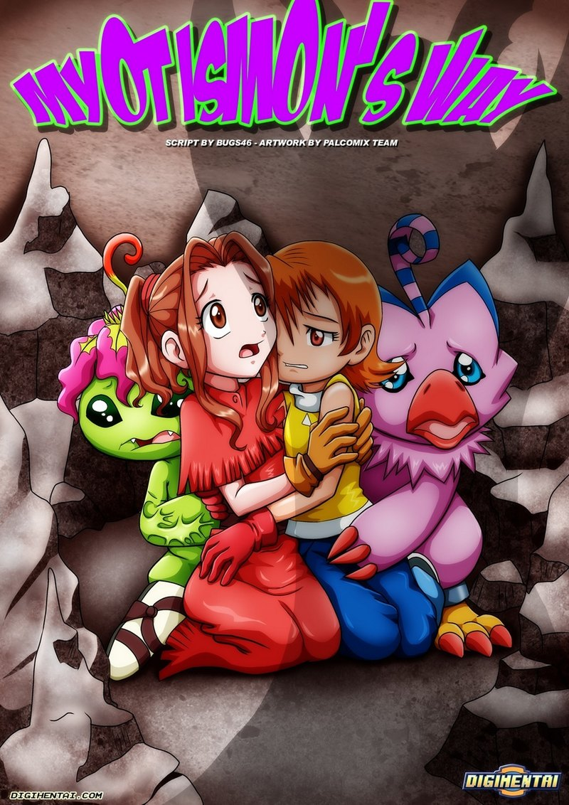 Digimon porno comics. Myotismon's Way