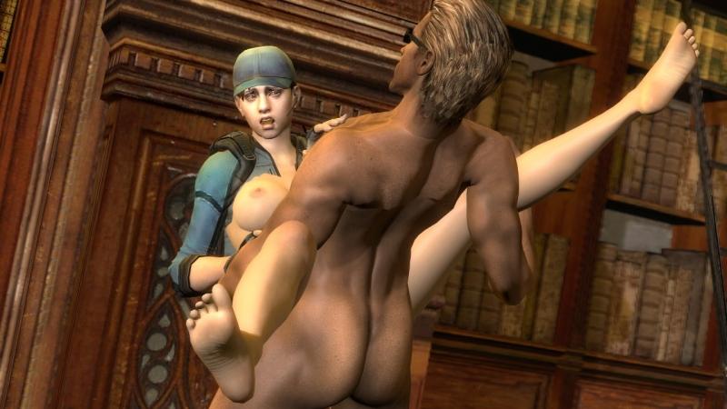 Resident Evil Nude Sheva