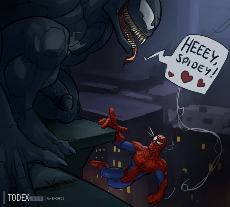 1014748 - Eddie_Brock Peter_Parker Spider-Man Todex Venom.jpg