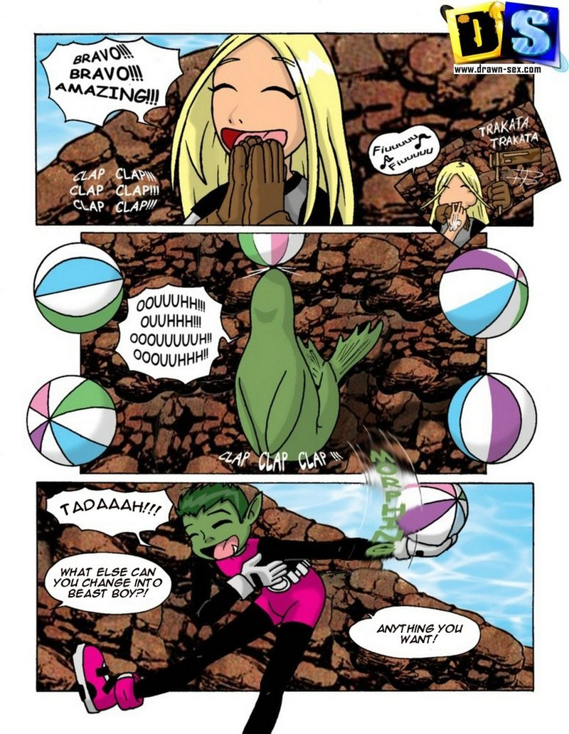 Terra Teen Titans Nude