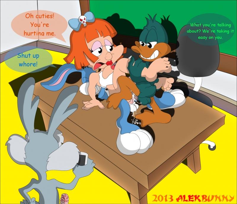 Babsy Bunny 1041361 - Buster_Bunny Calamity_Coyote Elmyra_Duff KELLA0 Plucky_Duck Tiny_Toon_Adventures Warner_Bros.jpg