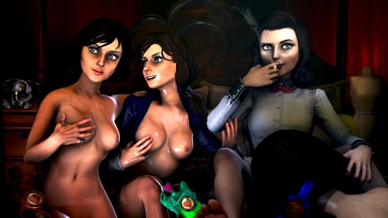 элизабет порно фото из биошок