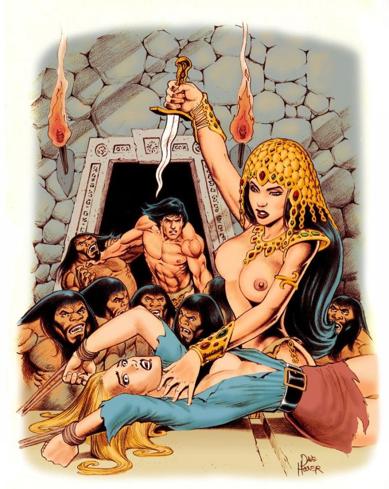 409341 - Dave_Hoover Jane_Porter La_of_Opar Queen_La Tarzan Tarzan_(character) literature tagme.jpg