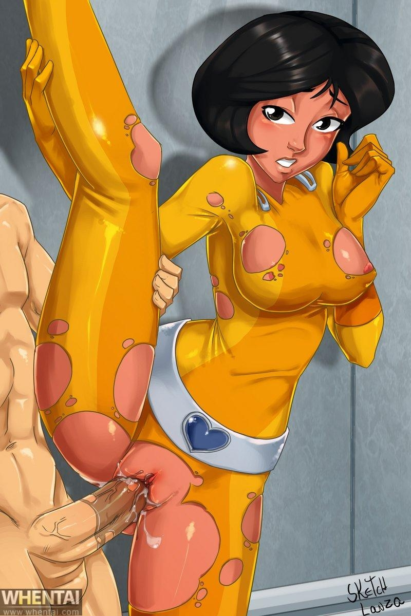 Totally Spies Porn Cat