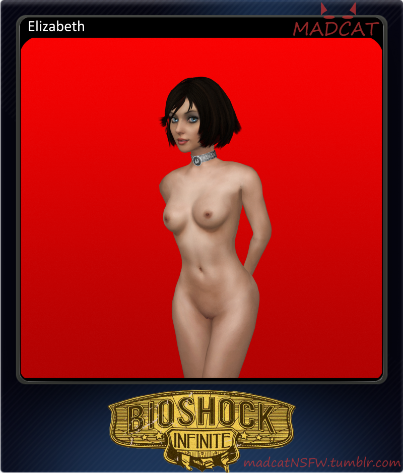 "Elizabeth is one of the main heroes in ""Bioshock Infinite"" so no wonder everybody wants to watch her naked!"