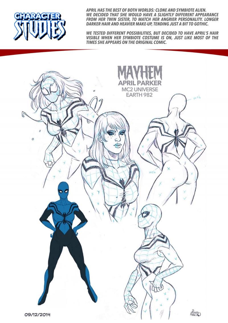 Spiderman Naked