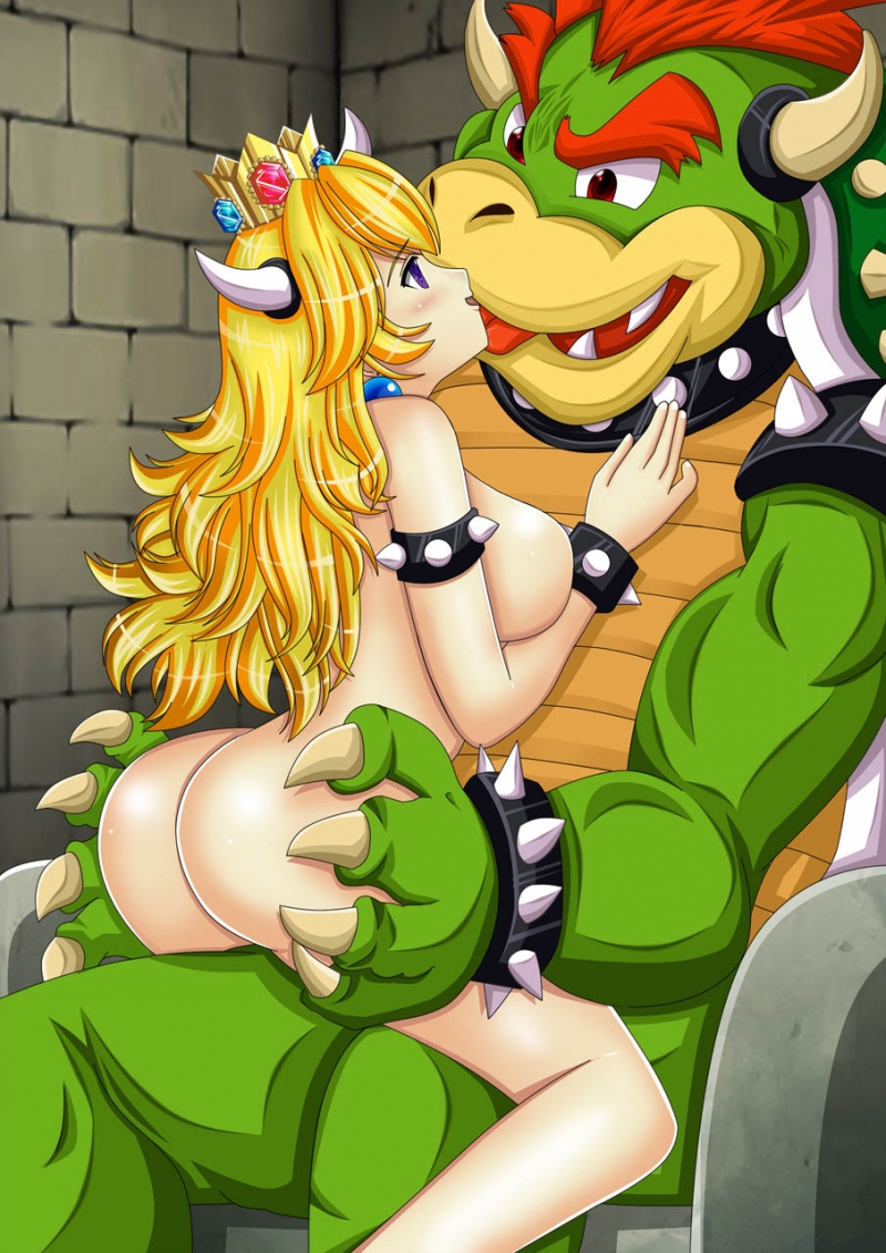 Brother hentai mario super