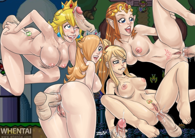 Princess Zelda 1413854 - Legend_of_Zelda Metroid Princess_Peach Princess_Rosalina Princess_Zelda Samus_Aran SketchLanza Super_Mario_Bros. Super_Smash_Bros. crossover.jpg