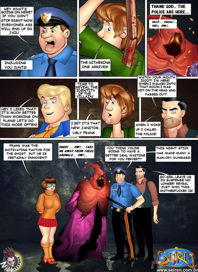 Scooby Doo Hentai Porn Doujinshi