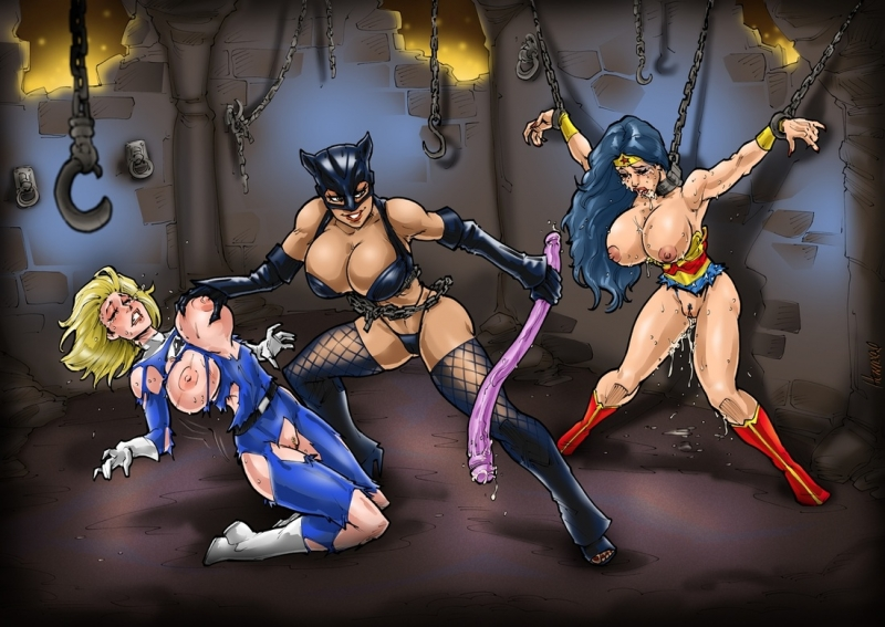 1355020 - Catwoman DC Fantastic_Four Hsefra Marvel Sue_Storm Wonder_Woman crossover.jpg