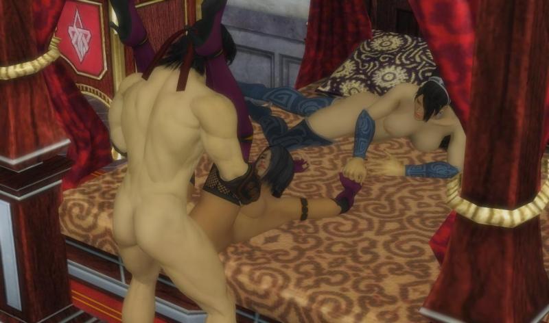 1357461 - Kitana Liu_Kang Mileena Mortal_Kombat XNALara.jpg