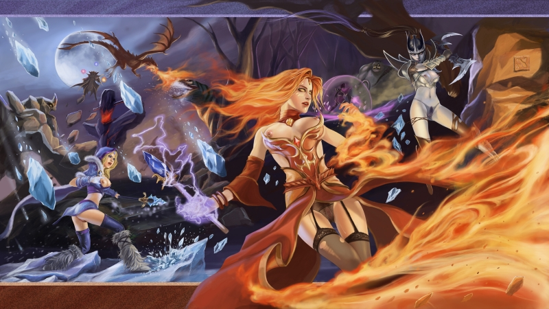 1362823 - DOTA_2 Invoker Lina Phantom_Assassin Pudge Rylai_the_Crystal_Maiden Templar_Assassin Tidehunter Tiny dragon_knight shanban2.jpg