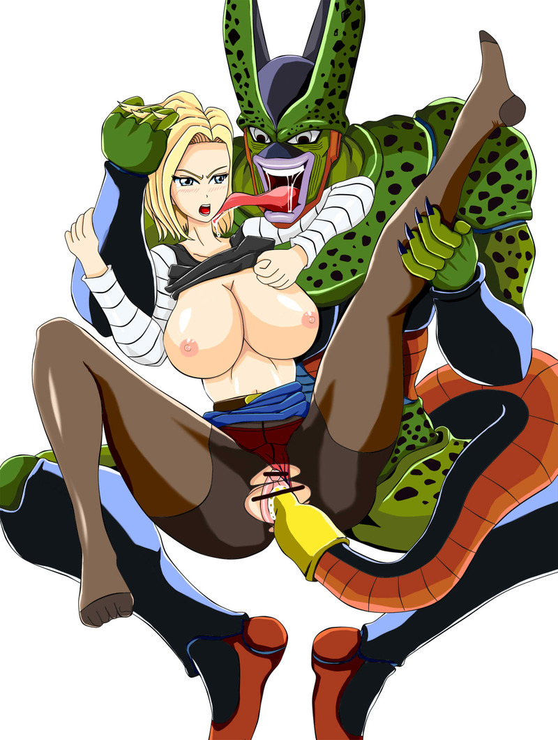 688494 - Android_18 Cell Dragon_Ball_Z.jpg