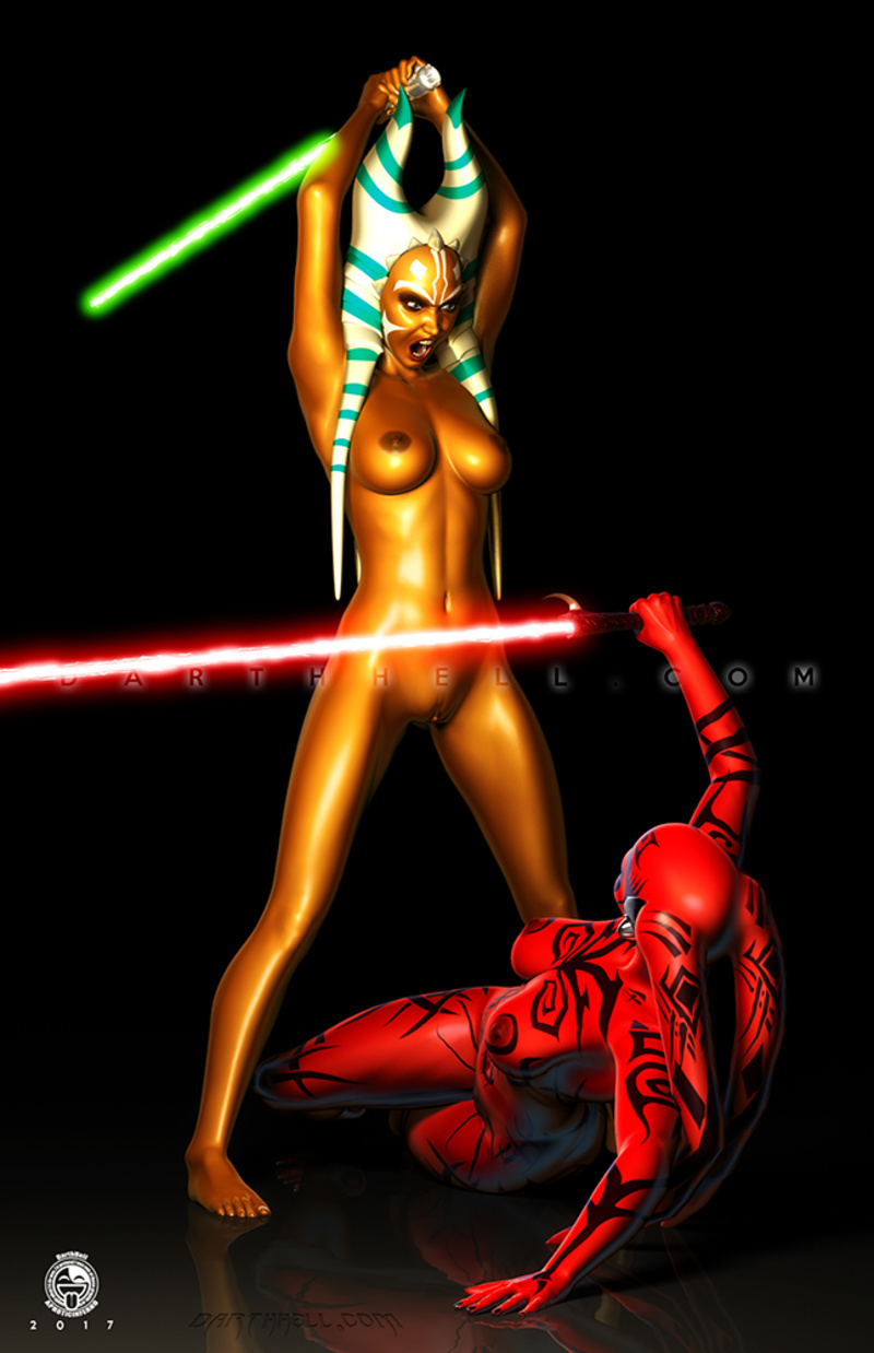 Ahsoka Tano Darth Talon share_it_b167e8f02d0f3da7d4897a27383ba522