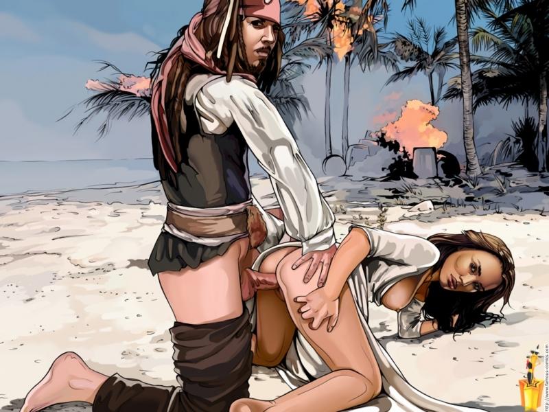 секс пародии пираты