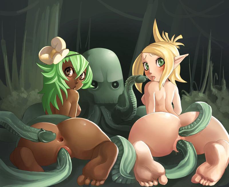 Naked Evangeline Wakfu Comic