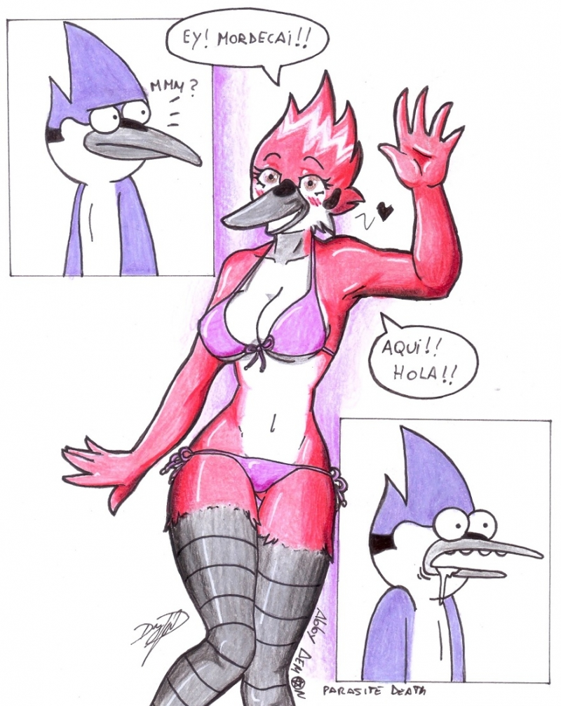 Regular Show Mordecai And Margreatie Sex
