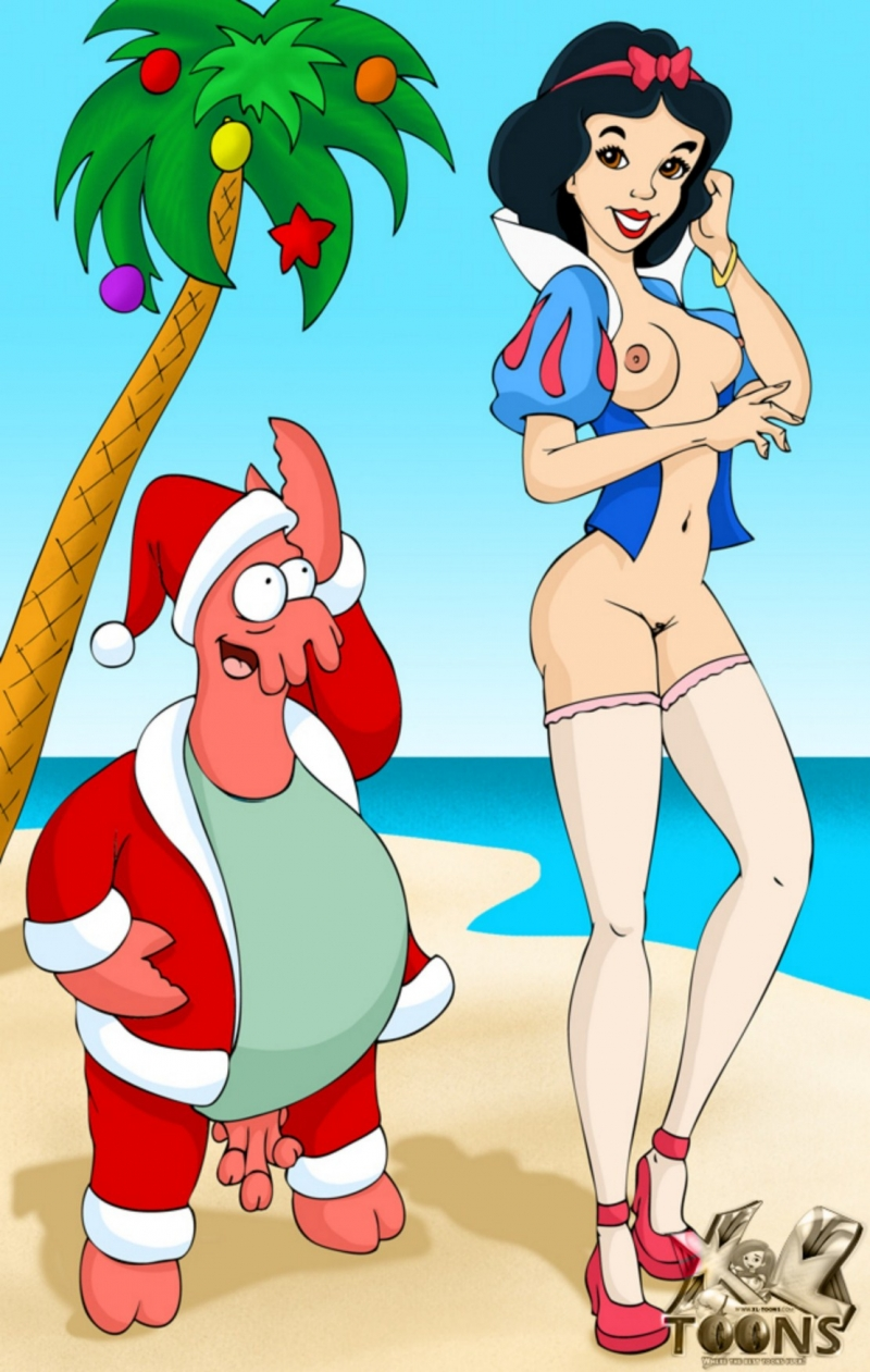 986684 - Christmas Futurama Snow_White Snow_White_and_the_Seven_Dwarfs Zoidberg crossover xl-toons.jpg