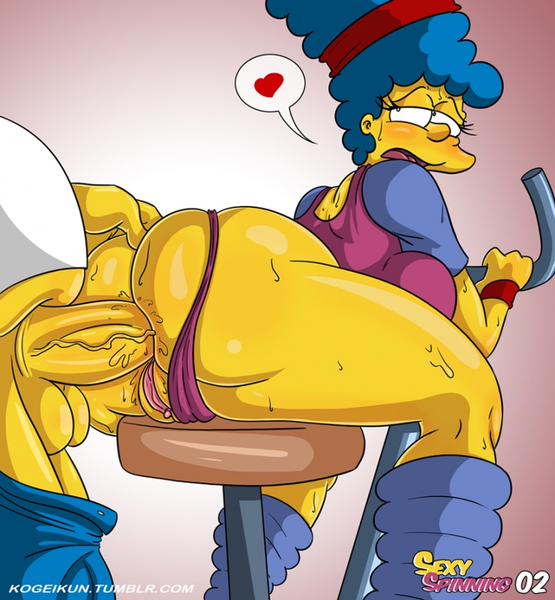 Simpsons Bart And Marge Sex