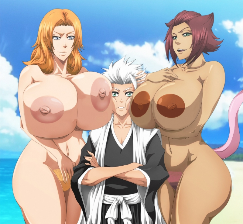 Sexy Bleach Girls Give Bj