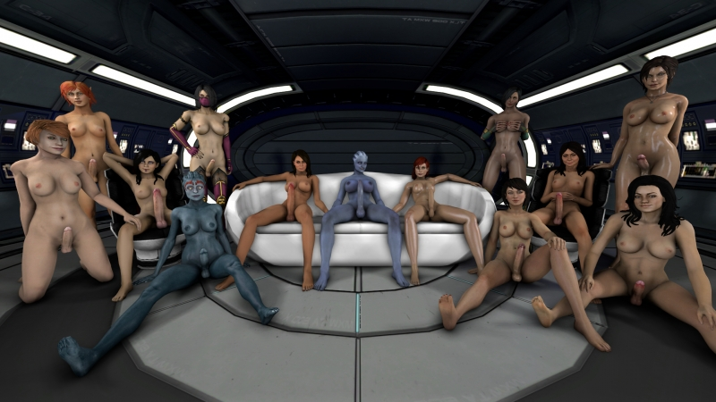 1200323 - Ashley_Williams Commander_Shepard Dark_Messiah_Of_Might_and_Magic Diana_Allers Elidin FemShep Jade Kasumi_Goto Kelly_Chambers Lara_Croft Liara_T%2