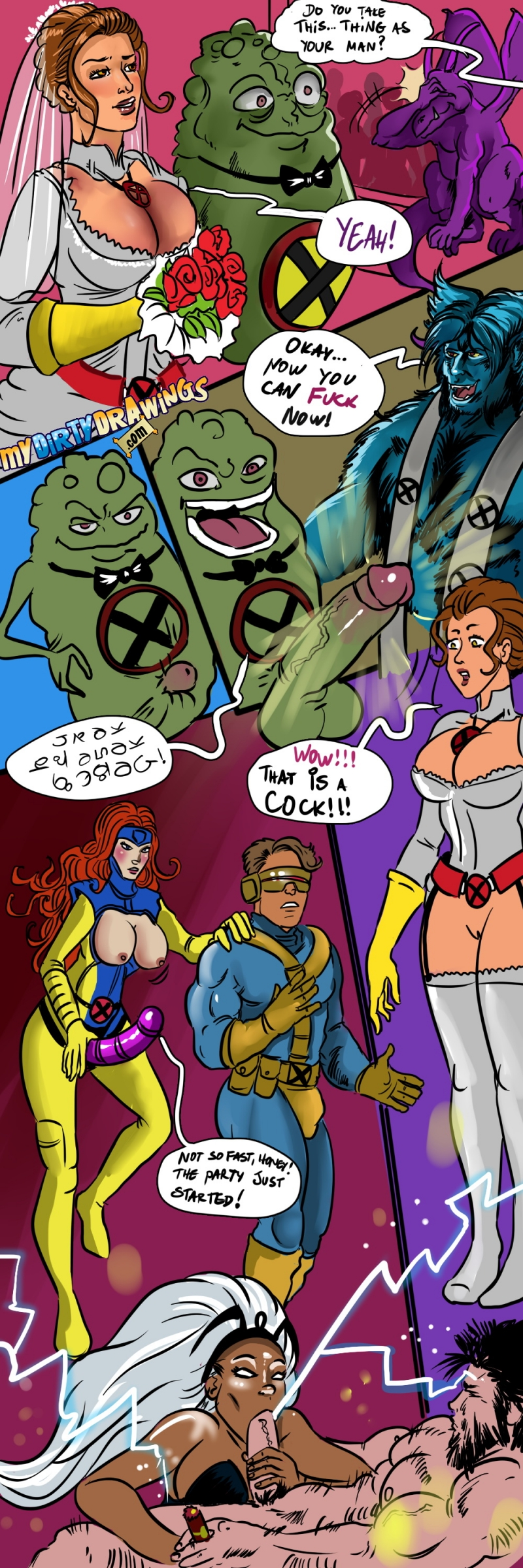 1446843 - Beast Cyclops Doop Jean_Grey Lockheed Marvel Storm Wolverine X-Men.jpg
