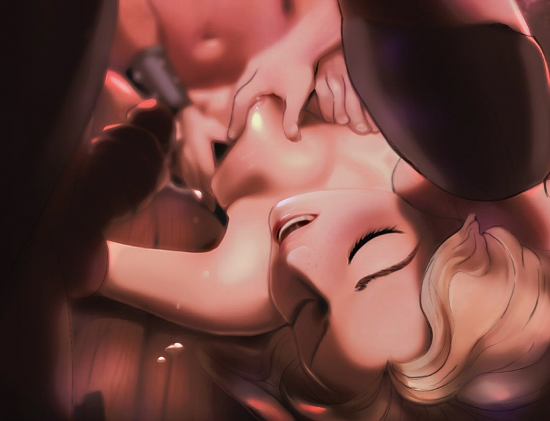 Rapunzel's tits may not be big but guys still likes to grab and squeeze em when fucking her!