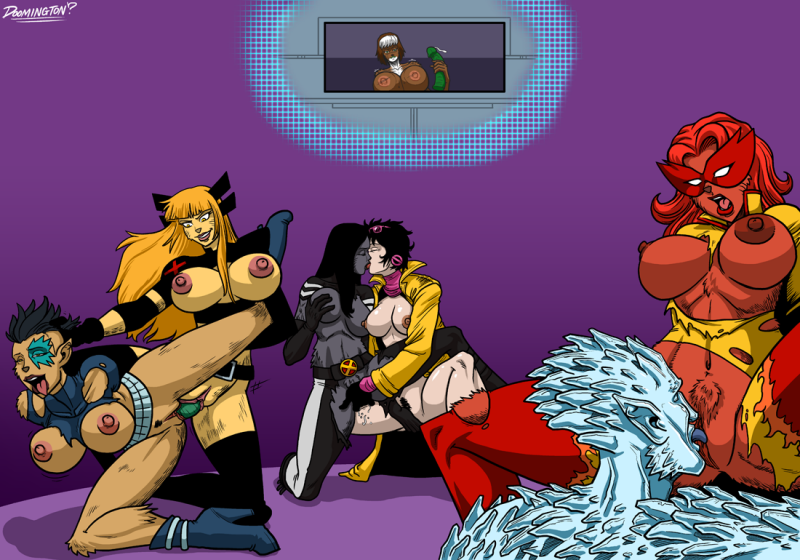Jubilee 1458976 - Dazzler Doomington Firestar Iceman Jubilee Magik Marvel Rogue X-23 X-Men.png