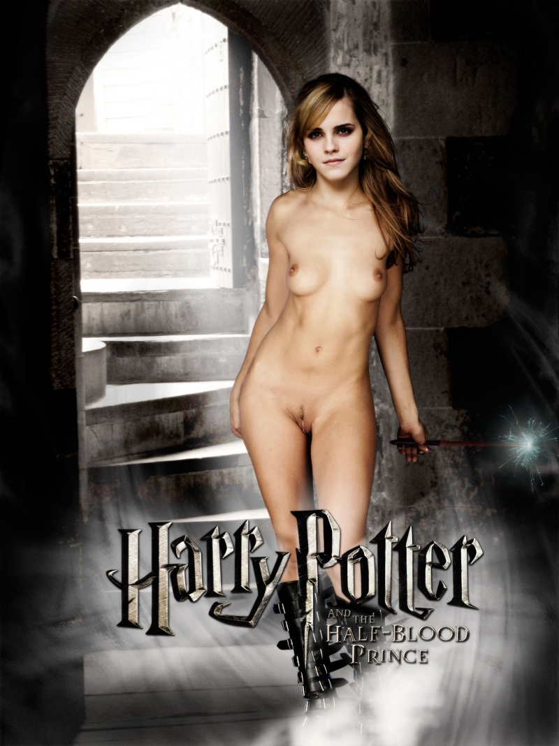 Hermione Jean Granger is well-prepped to perform some kinky magic!