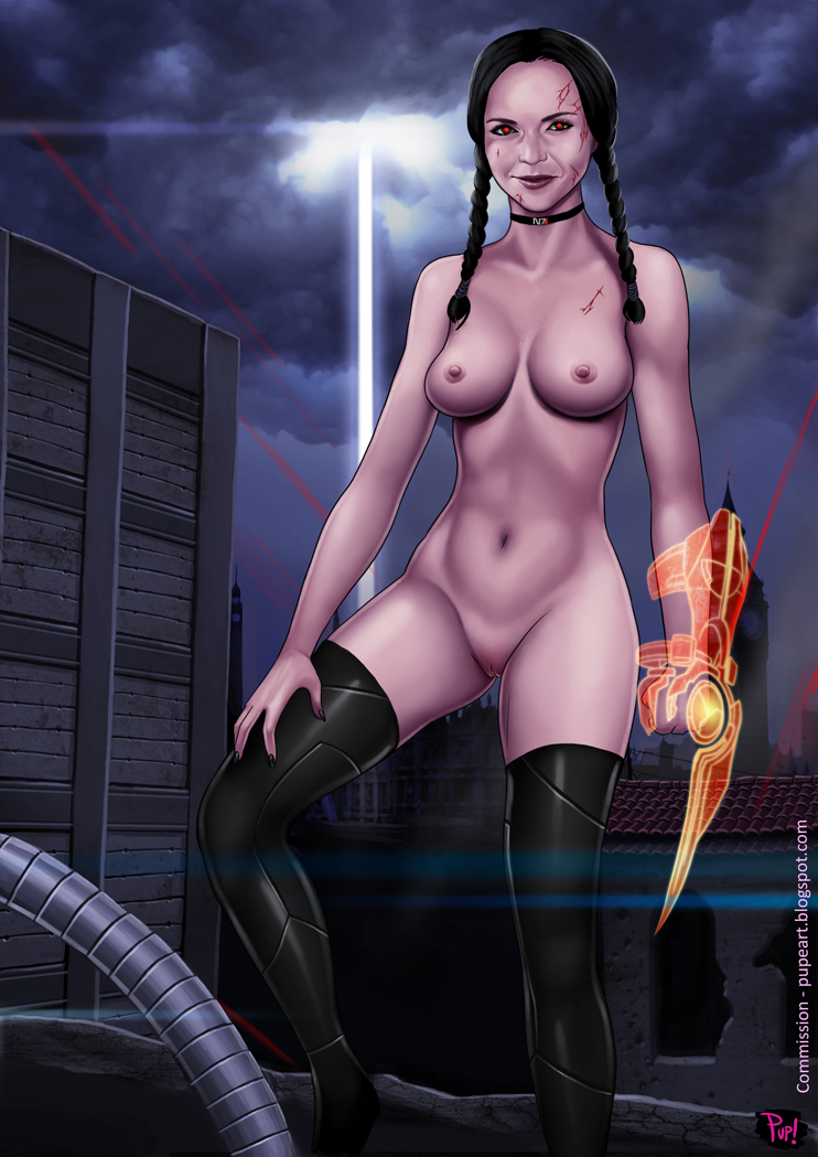 1192055 - Addams_Family Commander_Shepard FemShep Mass_Effect Wednesday_Addams cosplay pupete.jpg