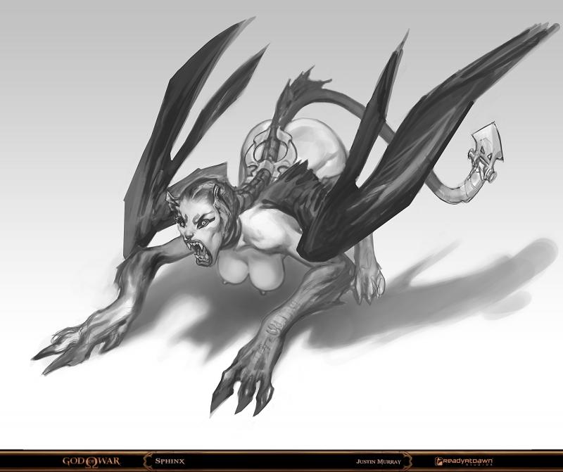 1082134 - God_of_War Greek_mythology Raggedy-Annedroid Sphinx mythology.jpg